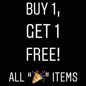 Other - 🎉NEW MARKDOWNS!! BUY 1, GET 1 FREE 🎉